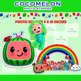 cocomelon personalized party needs set lootbox partyhat ref magnet