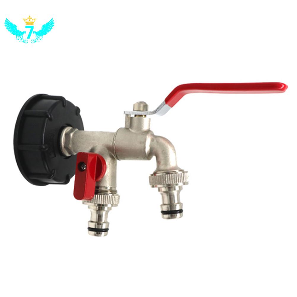 switch brass faucet double head faucet adapter brass nipple quick connect garden hose wf