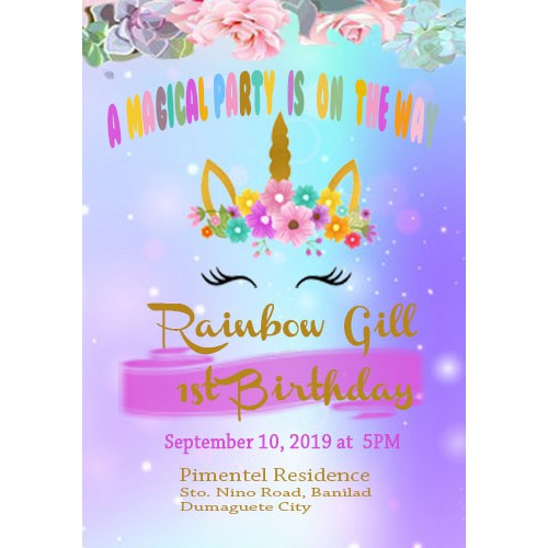 collections of birthday invitation cards