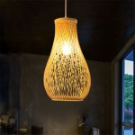 Ywxlight Creative Bamboo Pendant Light Home Living Room Decorative Ceiling Lamp Shopee Philippines