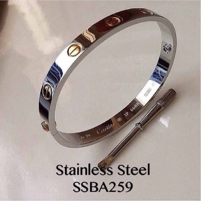 Cartier Bangle 2Tone   Replica    Shopee Philippines