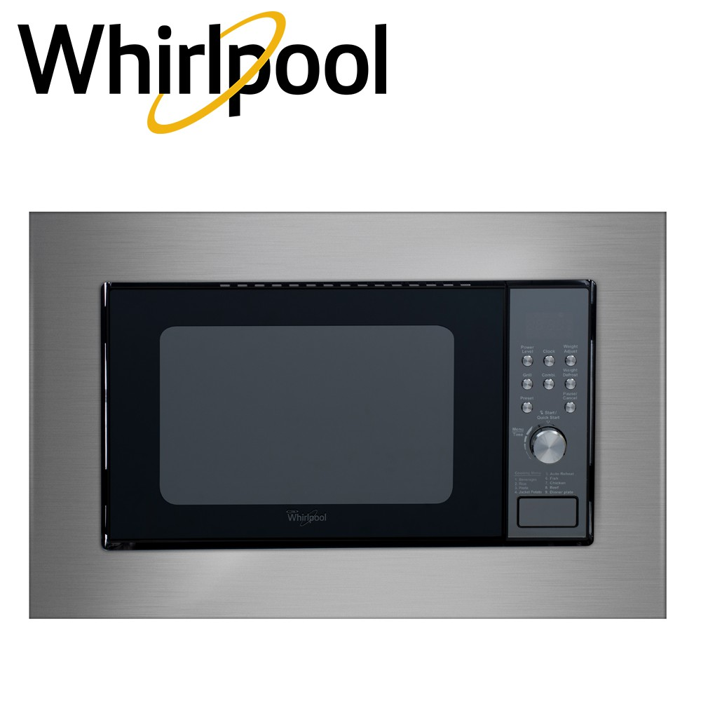 whirlpool 20 liter built in microwave oven mwb208 st black