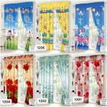 New Design Curtain Home Decoration For Window Available In Cod Shopee Philippines