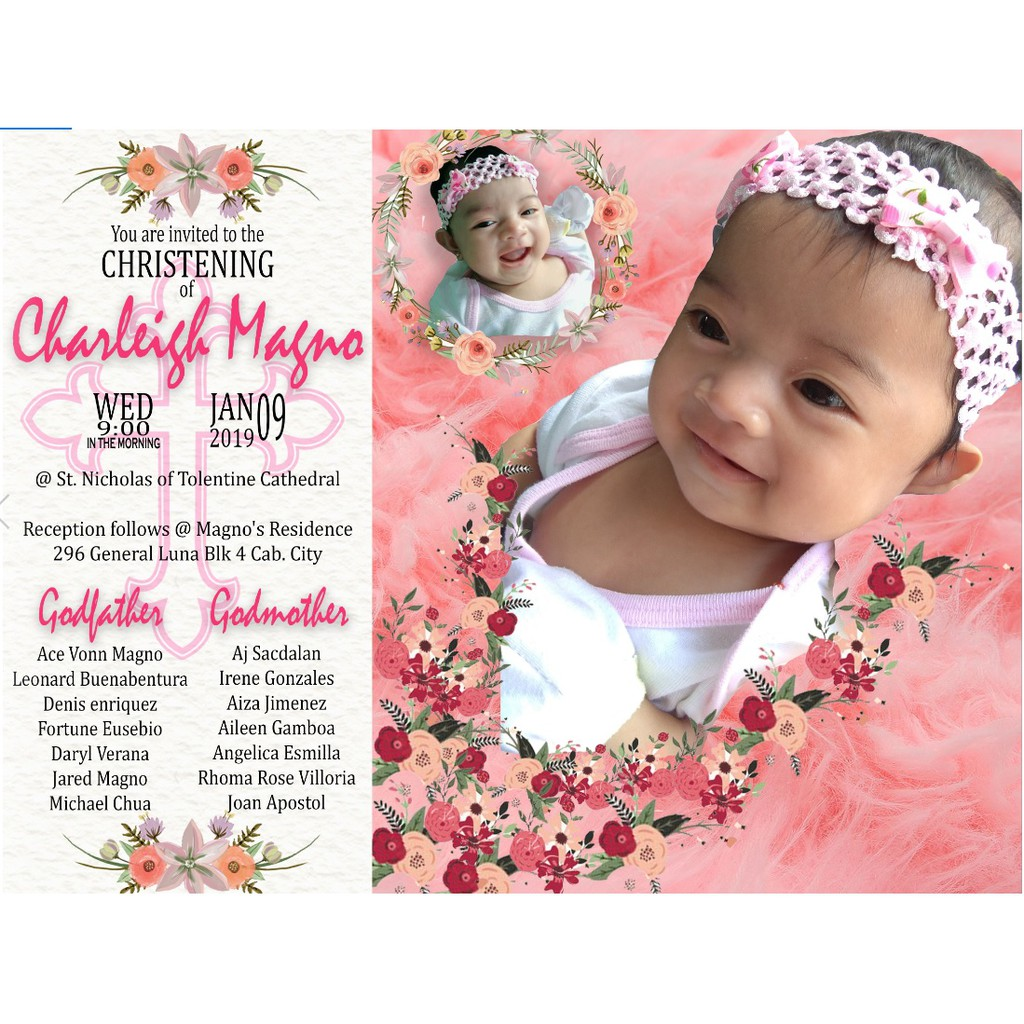 layouting for tarpaulin and personalized invitation
