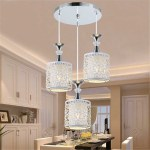1 2 3 Heads Modern Crystal Ceiling Lamps Led Lamps Living Room Dining Room Glass Ceiling Lamp Led Lustre Light Ceiling Lights Shopee Philippines