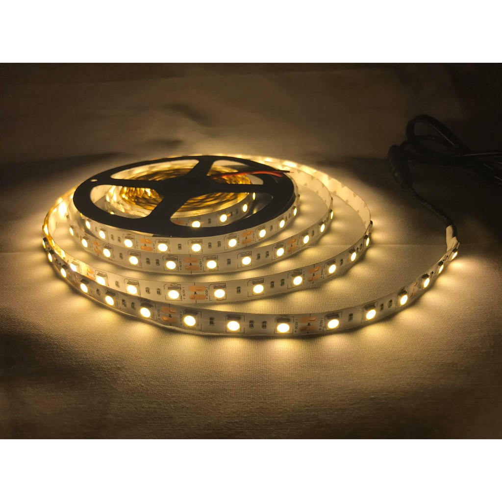 smd5050 5meters warm white led strip light for lighting accent or cove lighting