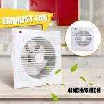 4 8 Inch Wall Extractor Exhaust Fan Bathroom Window Waterproof Mute Ventilation For Kitchen Toilet Ventilation Fans Shopee Philippines