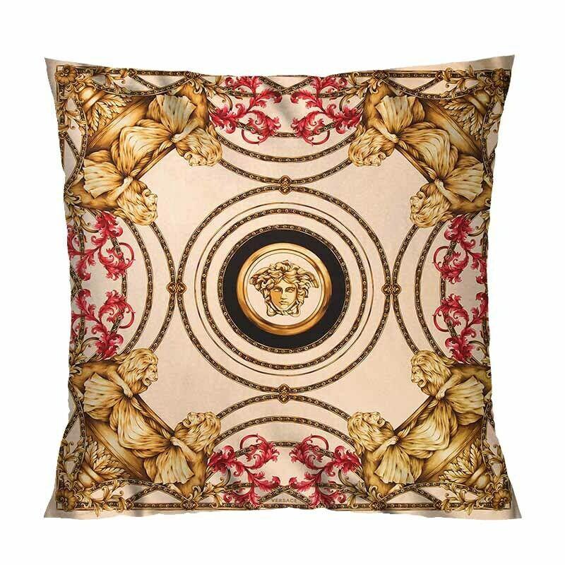 versace creative pillowcases sofa pillow case car cushion