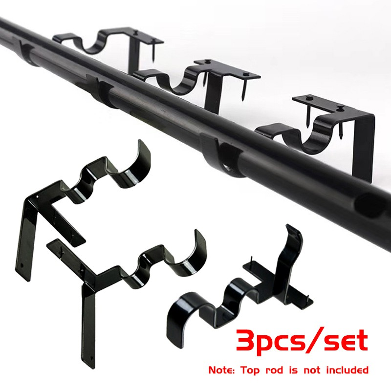 kwik hang curtain rod holders tap right into window frame