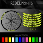 Foxter Wheel Rim Stickers For Mountain Bike Shopee Philippines