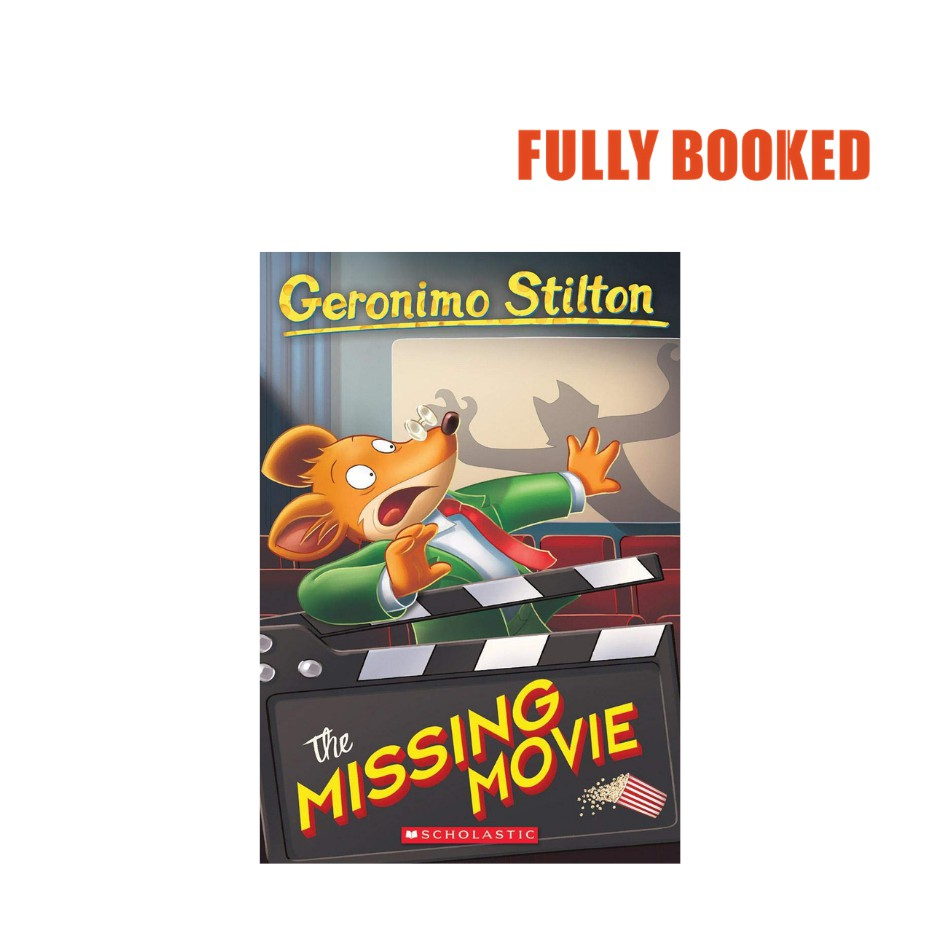 the missing movie book 73 paperback by geronimo stilton