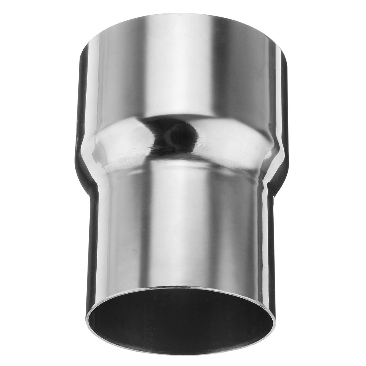 stainless standard exhaust pipe connector pipe adapter reducer tube easy weld on or clamp on