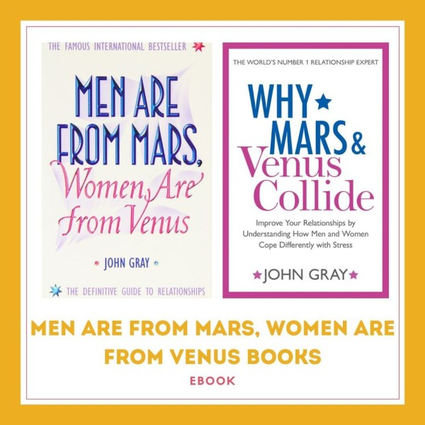 Men Are From Mars, Women Are From Venus by John Gray Books ...