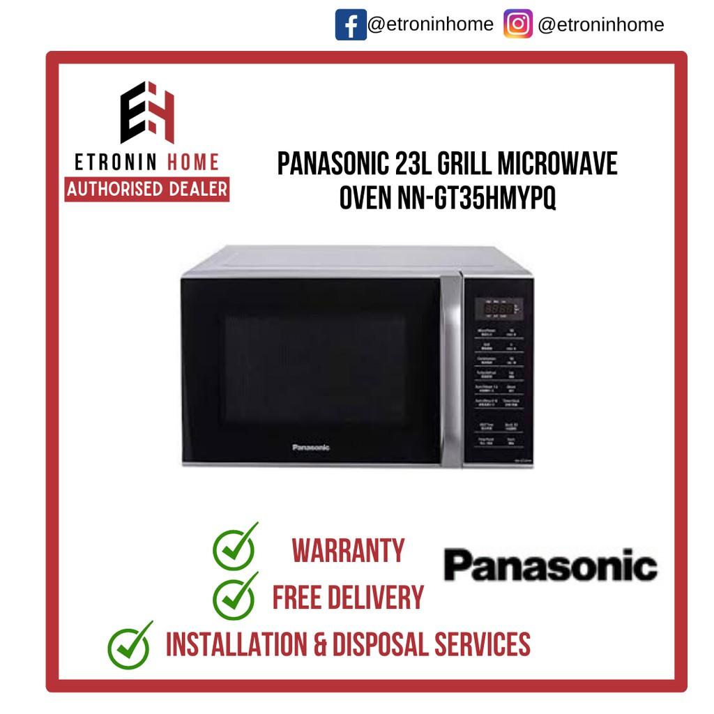 panasonic 23l grill microwave oven nn gt35hmypq