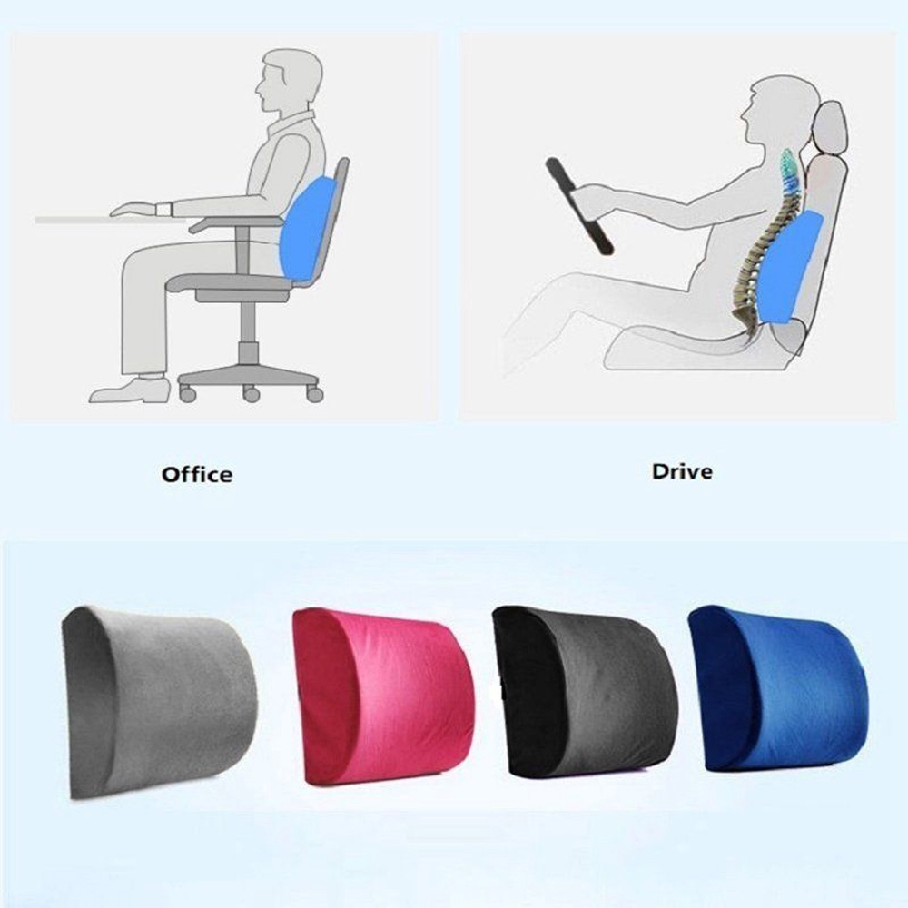 lumbar cushion back support travel