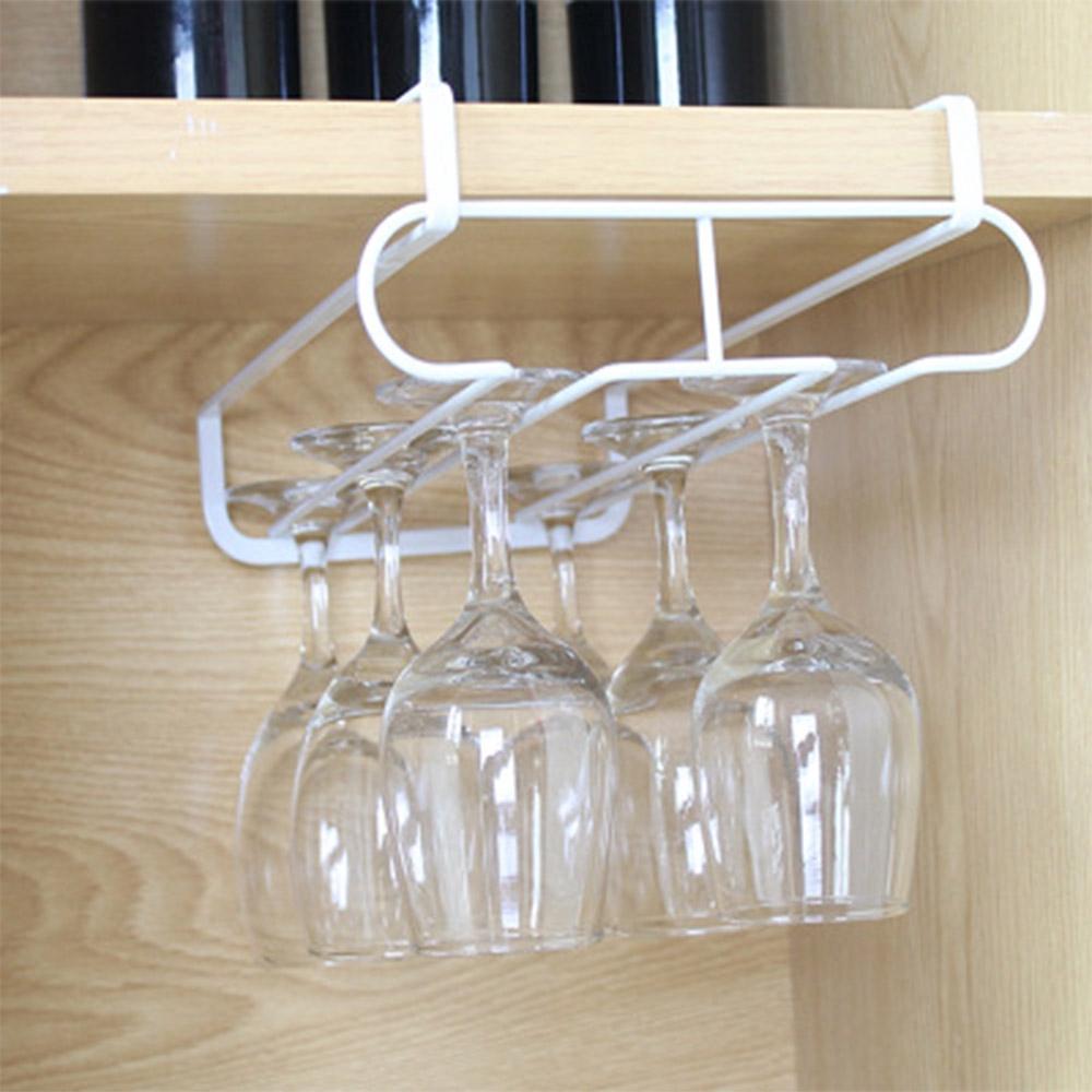 under cabinet wine glass rack kitchen storage tool