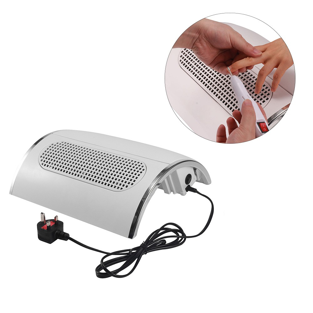 y1 nail art table nail dust collector machine exhaust fan vacuum cleaner tool nail salon dust extractor with 3 power fans