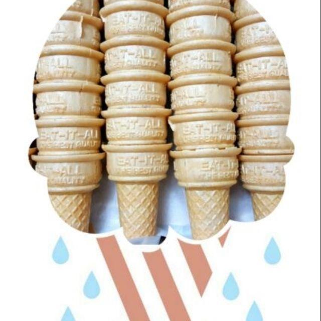 彩色棉花糖甜筒烘培手作親子DIY 脆皮甜筒餅乾 包裝袋威化杯 冰淇淋杯 | 蝦皮購物