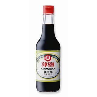統一 龜甲萬 薄鹽醬油 500ml 【康鄰超市】   蝦皮購物