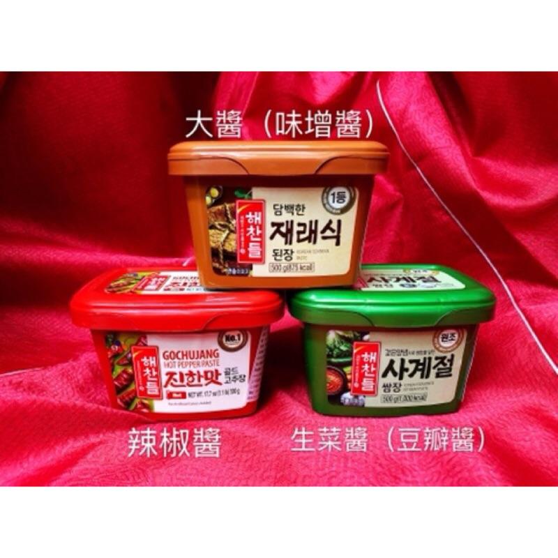 【韓國忠清南道】韓國CJ韓式辣椒醬200g/500g/1kg,大醬(味增醬)500g,生菜醬(豆瓣醬)500g | 蝦皮購物