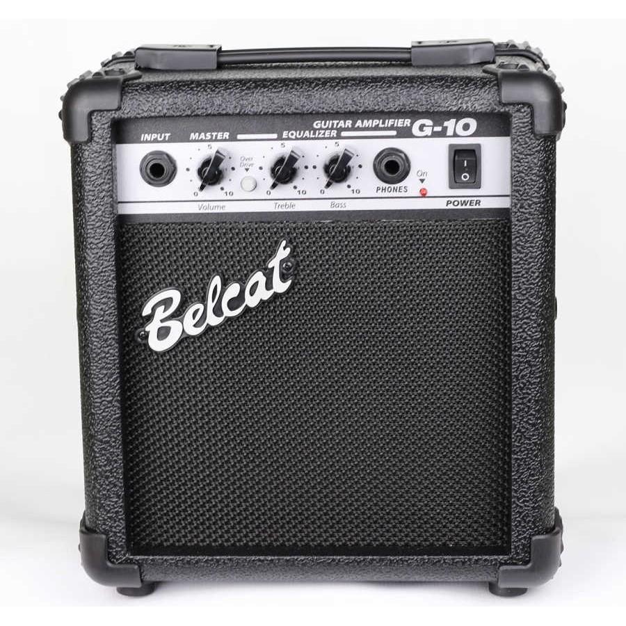 【六絃樂器】全新 Belcat G-10 電吉他音箱 / 出力10W 有破音效果 附耳機插孔 | 蝦皮購物