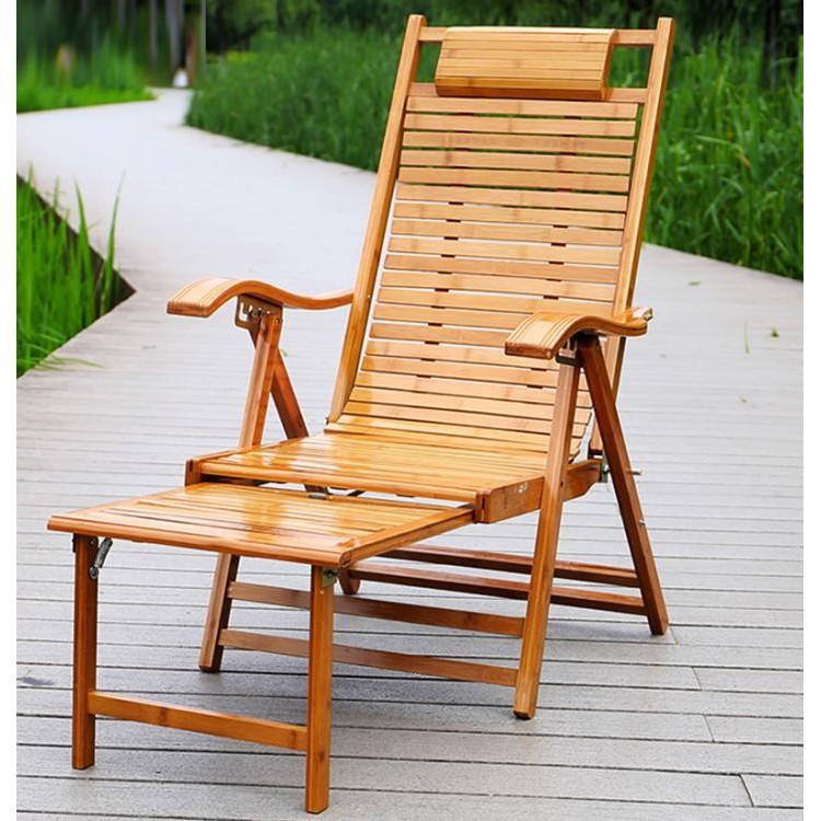 《滿一千折一百+新品免運》躺椅 陽臺家用老人靠背竹椅夏季藤椅休閒單人午睡躺椅折疊午休躺椅 | 蝦皮購物