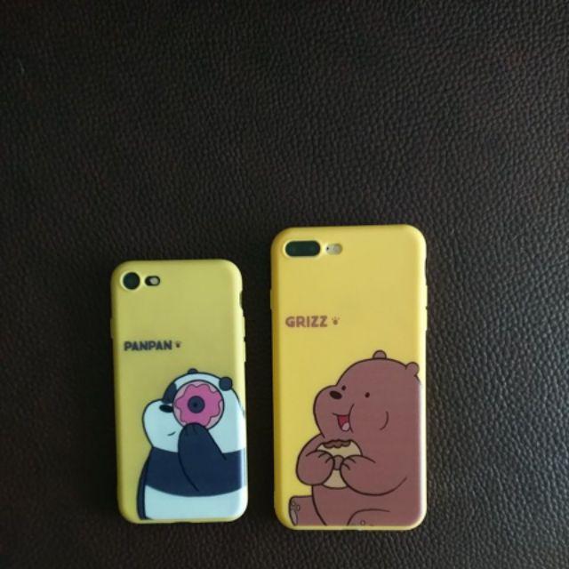 熊熊遇見你iXsmax蘋果iX保護殼 iXR全包套 i8plus貪吃小熊 i7矽膠 黃色綠色底 i6S可愛情侶軟殼 | 蝦皮購物