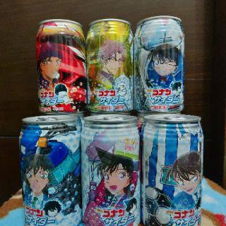 現貨特價 日本帶回 dydo 蘇打飲料 第二彈 柯南 碳酸飲料 2020劇場版   蝦皮購物