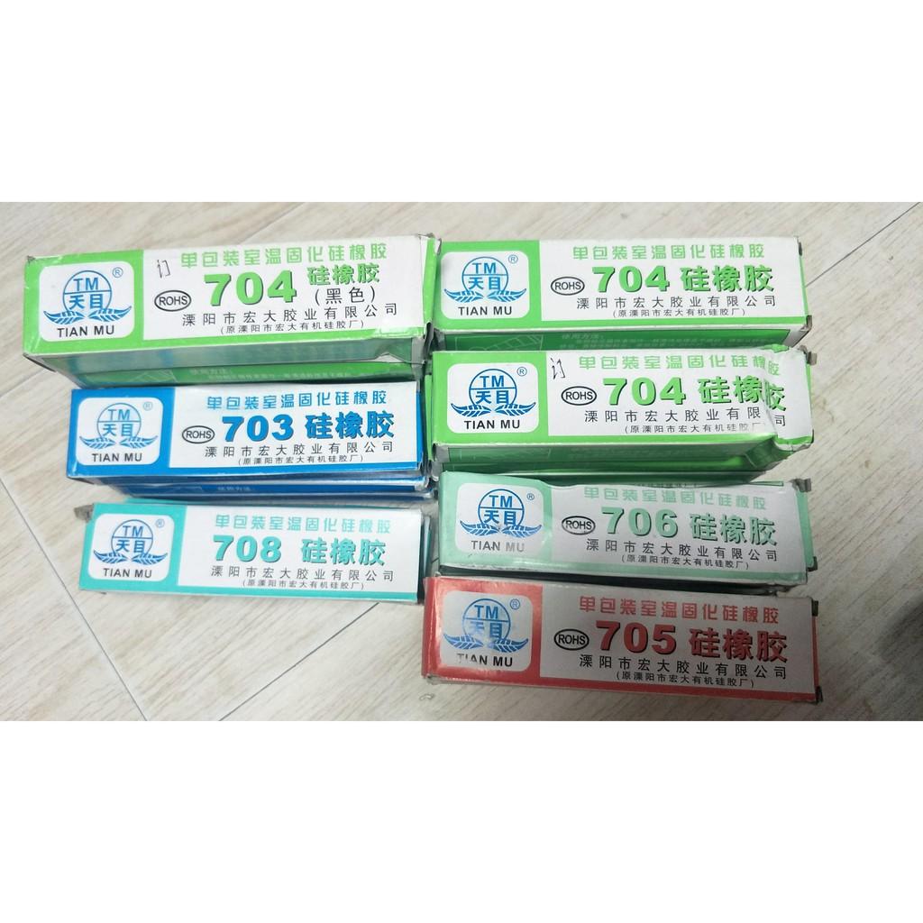 透明密封矽橡膠供應 天目 703 704 705 708 硅橡膠 導熱硅脂 | 蝦皮購物