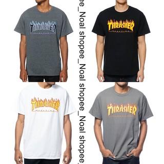 美國 Thrasher Flame Logo Tee 火焰 滑板 黃火焰 白火焰 紫火焰 短袖 t恤 短t place | 蝦皮購物