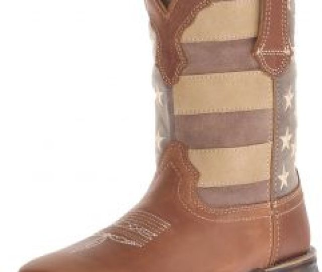 Durango Womens Drd Boot Brown Faded Union Flag  M Us