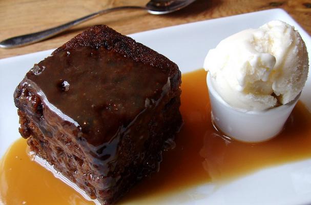 Foodista Sweet Sticky Toffee Pudding