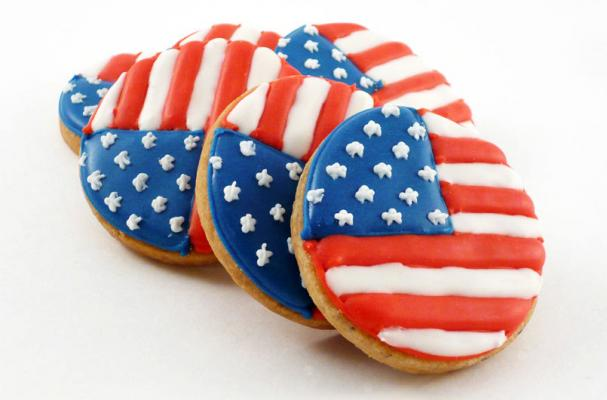 Foodista Memorial Day Flag Cookies Are Patriotic Pastries