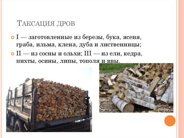 Особенности учета дров. Правила укладки и обмера, единицы ...