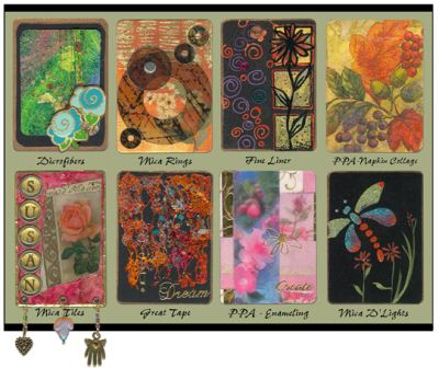 Artist Trading Cards From USArtQuest
