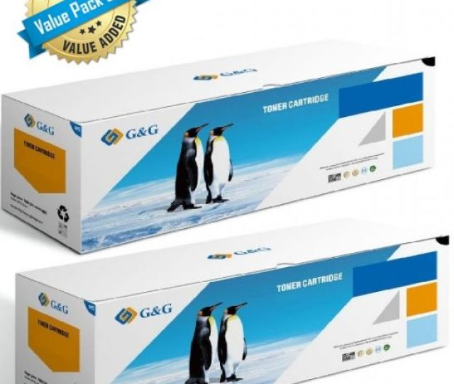Gg Premium Compatible Black Toner For Hp 507a Ce400a Value Pack Of 2