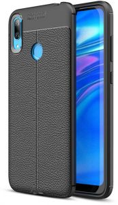 Soft Tpu Back Cover Auto Focus For Huawei Y7 Prime 2019 Black