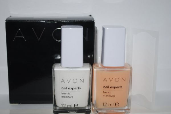 Avon Nail Experts French Manicure Unterlack Tip Lilac