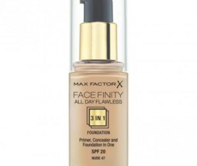 Max Factor Facefinity All Day Flawless  Foundation Nude