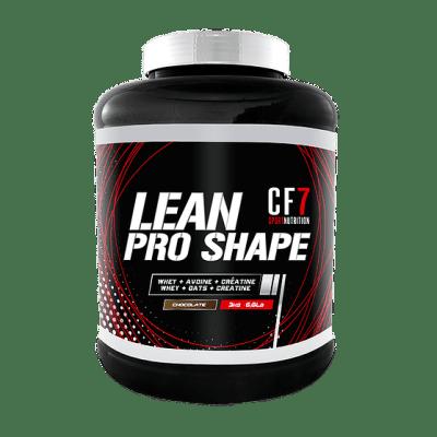 LEAN PRO SHAPE CF7 – Gainer à base de poudre d'avoine