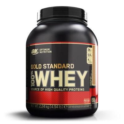 100% WHEY GOLD STANDARD – Optimum Nutrition