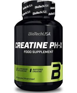 Créatine PH-X – BioTech USA – 90 Capsules