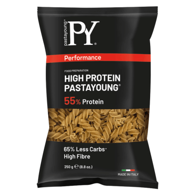 HIGH PROTEIN FUSILI- Pasta Young – 250g