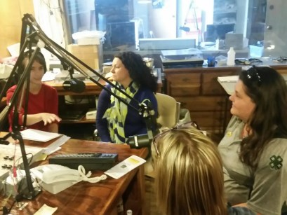 BBeans radio show farmers market joni and Val