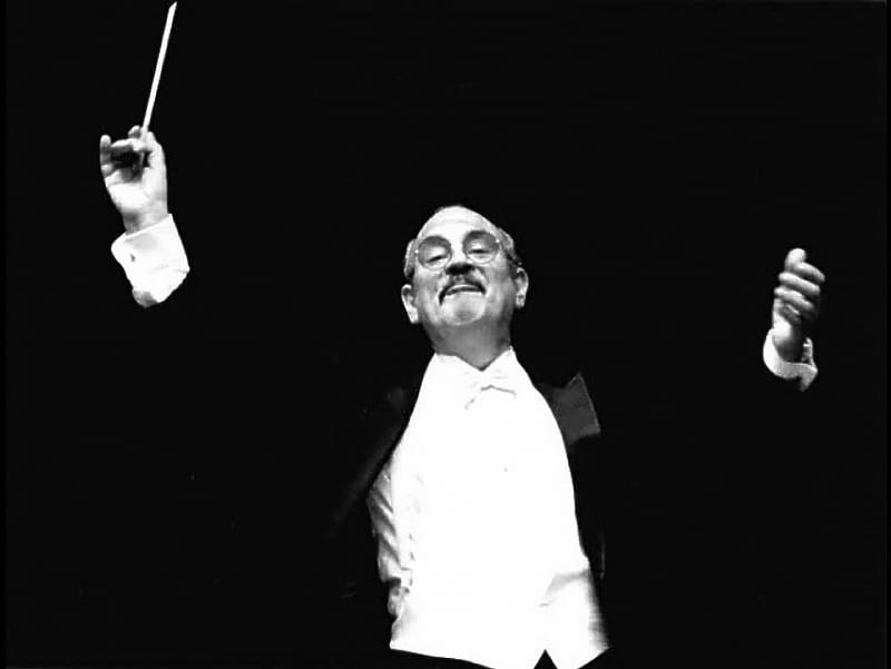 Paul Salamunovich conducting