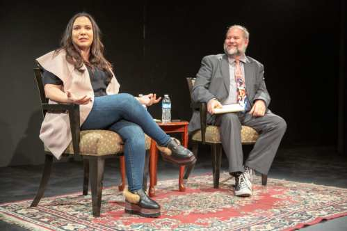 GCK 3 forblog - Gloria Calderón Kellett '97 Talks to Students about Success and Resiliency in Hollywood