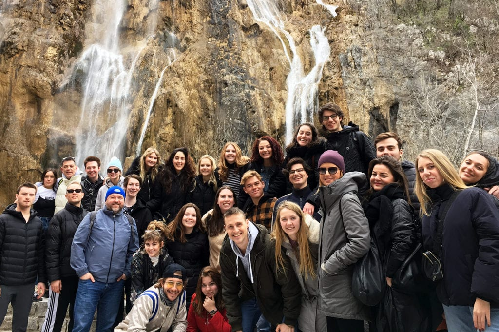 Plitvice 1 forblog - Theatre Arts Students Experience a Semester in Germany