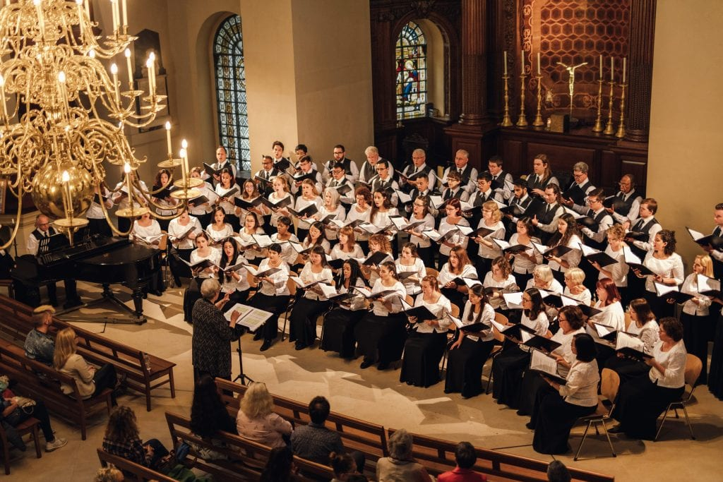 "St. George Bloomsbury - ""A Musical Gift"": LMU Choruses Travel to Europe"