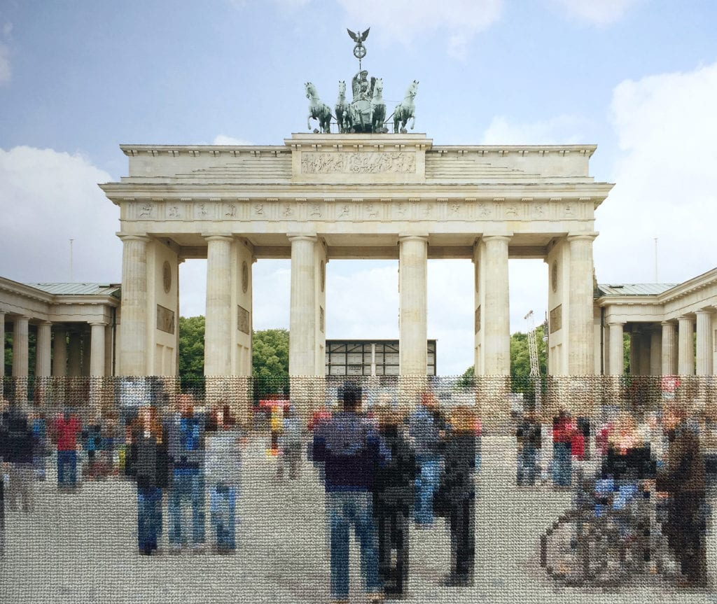 "07 Brandenburg Gate scaled - ""Berlin"" Exhibition by Professor Diane Meyer Weighs History and Memory"
