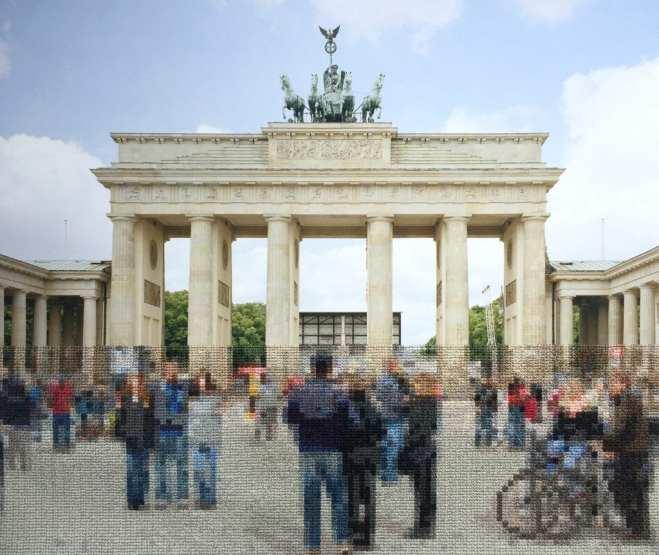 Diane Meyer, Brandenburg Gate